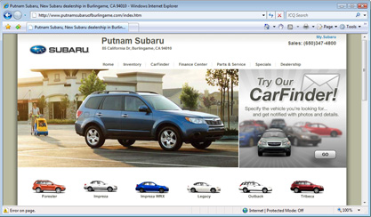 Bay Area Subaru Dealers And San Francisco Subaru Service By Putnam - Subaru bay area dealers
